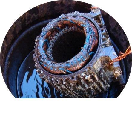 Produto para lavagem de motores elétricos