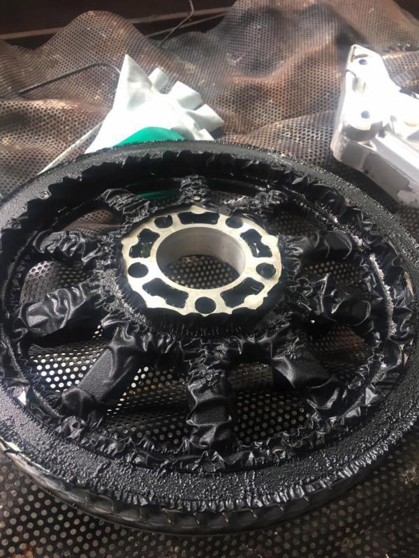 Removedor de pintura para motores