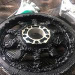 Removedor de tinta para motores
