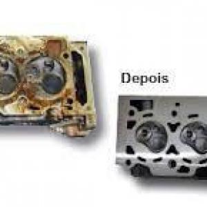 Descarbonizante de peças